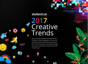 2017 - Creative Trends Report from Shuttersock