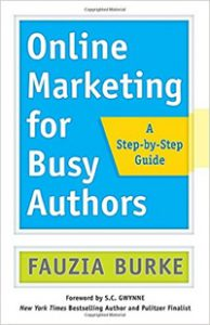 Marketing your book. Online Marketing for Busy Authors book cover