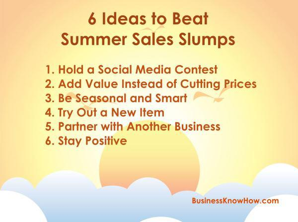 Beat the Summer Sales Slump