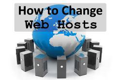 how to migrate your website to a new host
