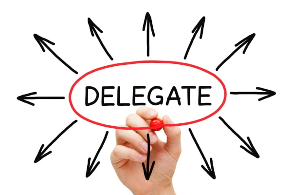 when you should delegate business activities