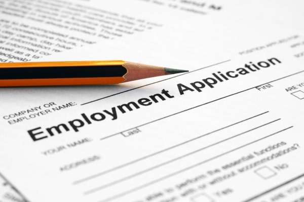 how to check job application references