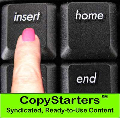 CopyStarters syndicated content