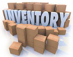 boxes of inventory