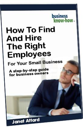 How to hire employees for your small business book cover