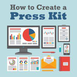 how to create a press release kit
