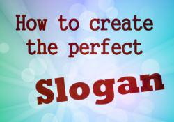 how to create a slogan