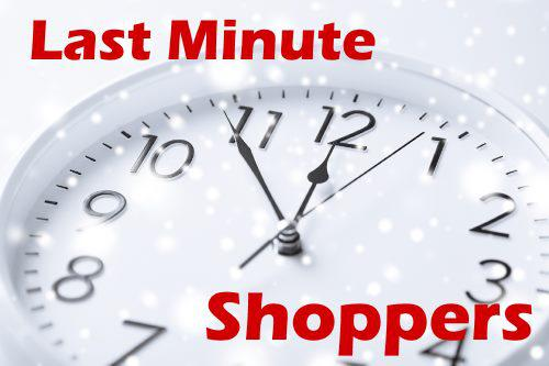 marketing to last minute shoppers